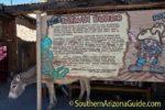 sign at Oatman AZ