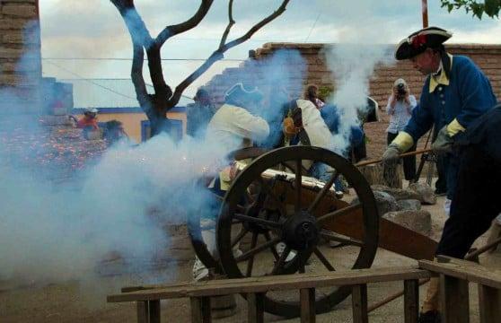 Cannon Fire At El Presidio de Tucson