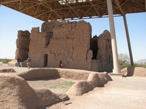 Casa Grande National Monument Prehistoric Ruins