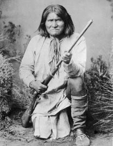 Geronimo w rifle