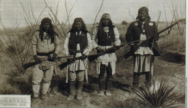 Geronimo, 2 sons and nephew