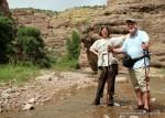 Hiking in Aravaipa Canyon