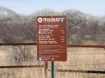 Millville Trail Head Sign