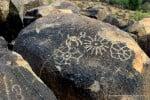 rock art at Saguaro National Park West
