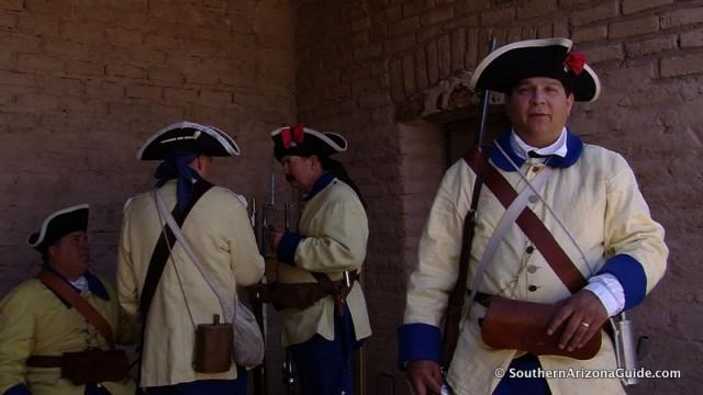Spanish Soldier At El Presidio San Agustin de Tucson circa 1776