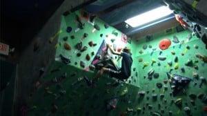 Climbing at Rocks & Ropes