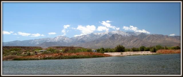 Scene from Picnic Area at Roper Lake