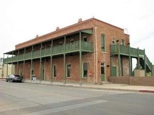 Restored Silver King Hotel, Florence AZ