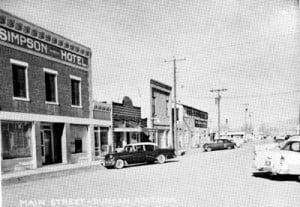 Simpson-Hotel 1950s