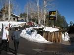 Ski Valley Iron Door