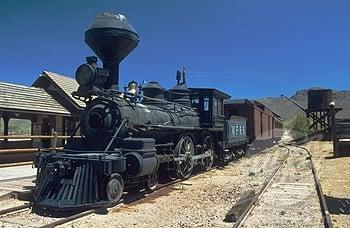 The Train To Tombstone Arizona Territory 1903