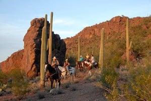 White Stallion Ranch Trail Ride
