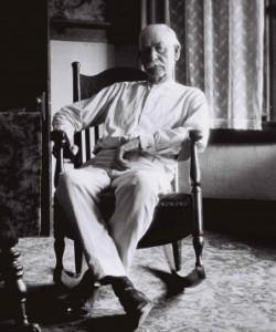 Photo of Wyatt Earp in 1923