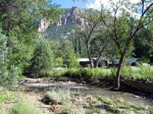 Southwest Research Station in Cave Creek Above Portal, AZ.